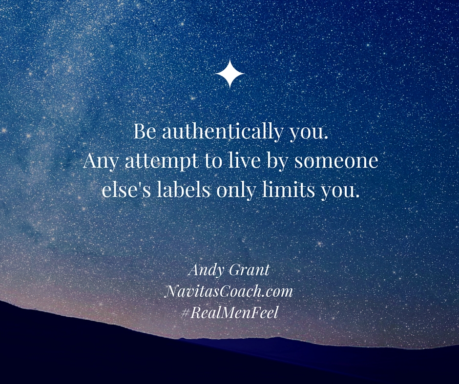 Be authentically you.