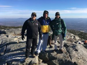 Mount Monadnock, 3,166' high.